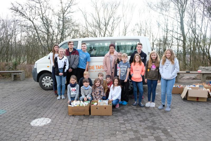Lebensmittelspende an die Tafel Bad Neustadt