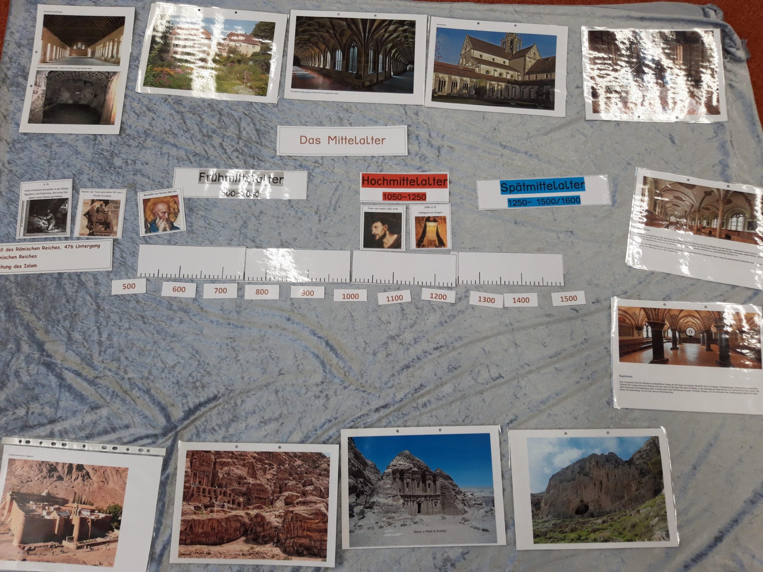 Projektwoche: Mittelalter